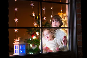 7 Ways to Add Holiday Cheer to Your Windows